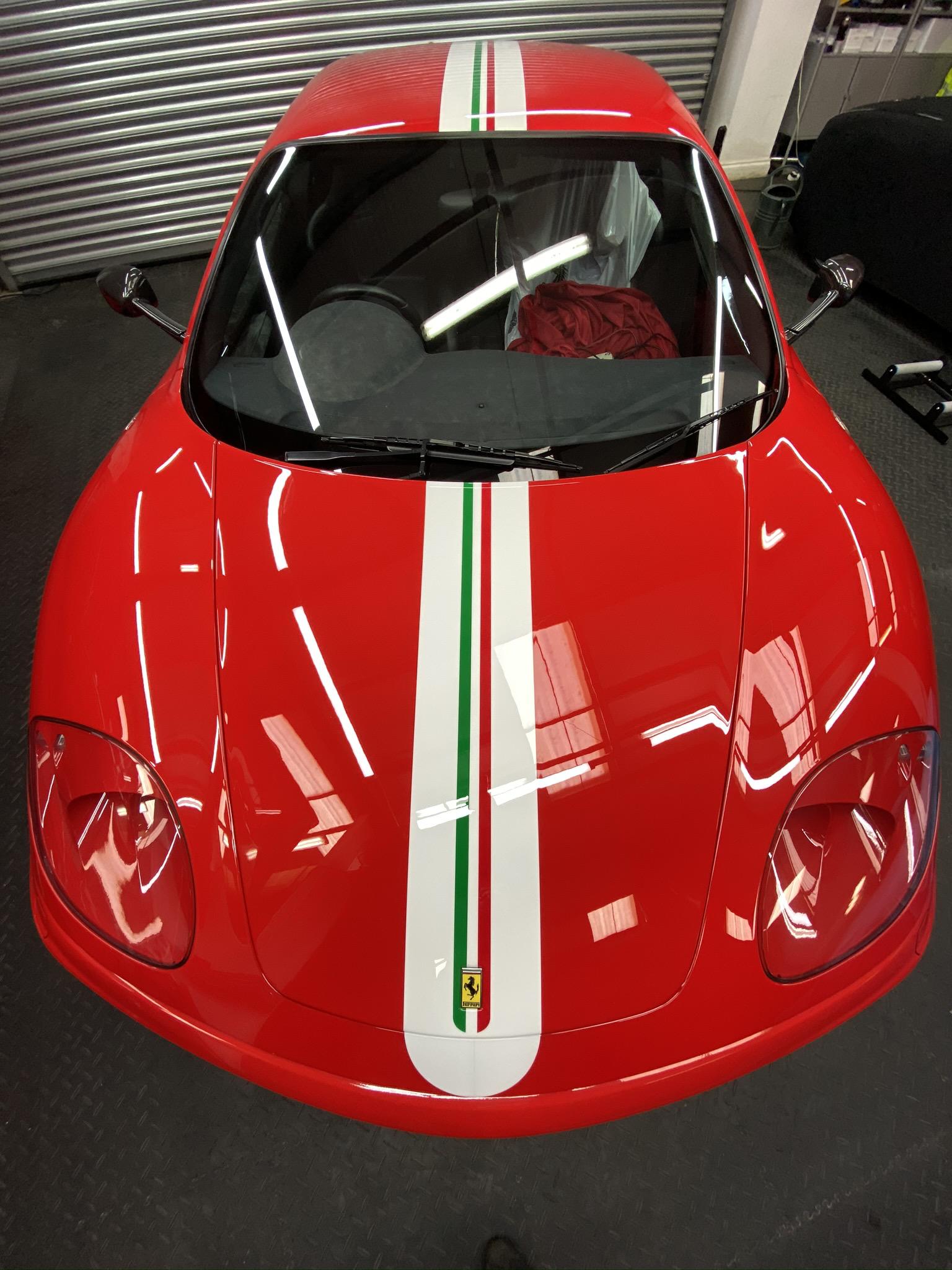 Ferrari 360 full body detailing