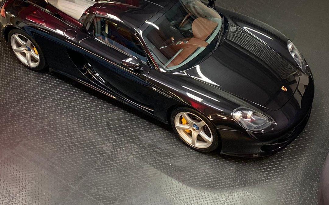 Porsche Carrera GT Detailing