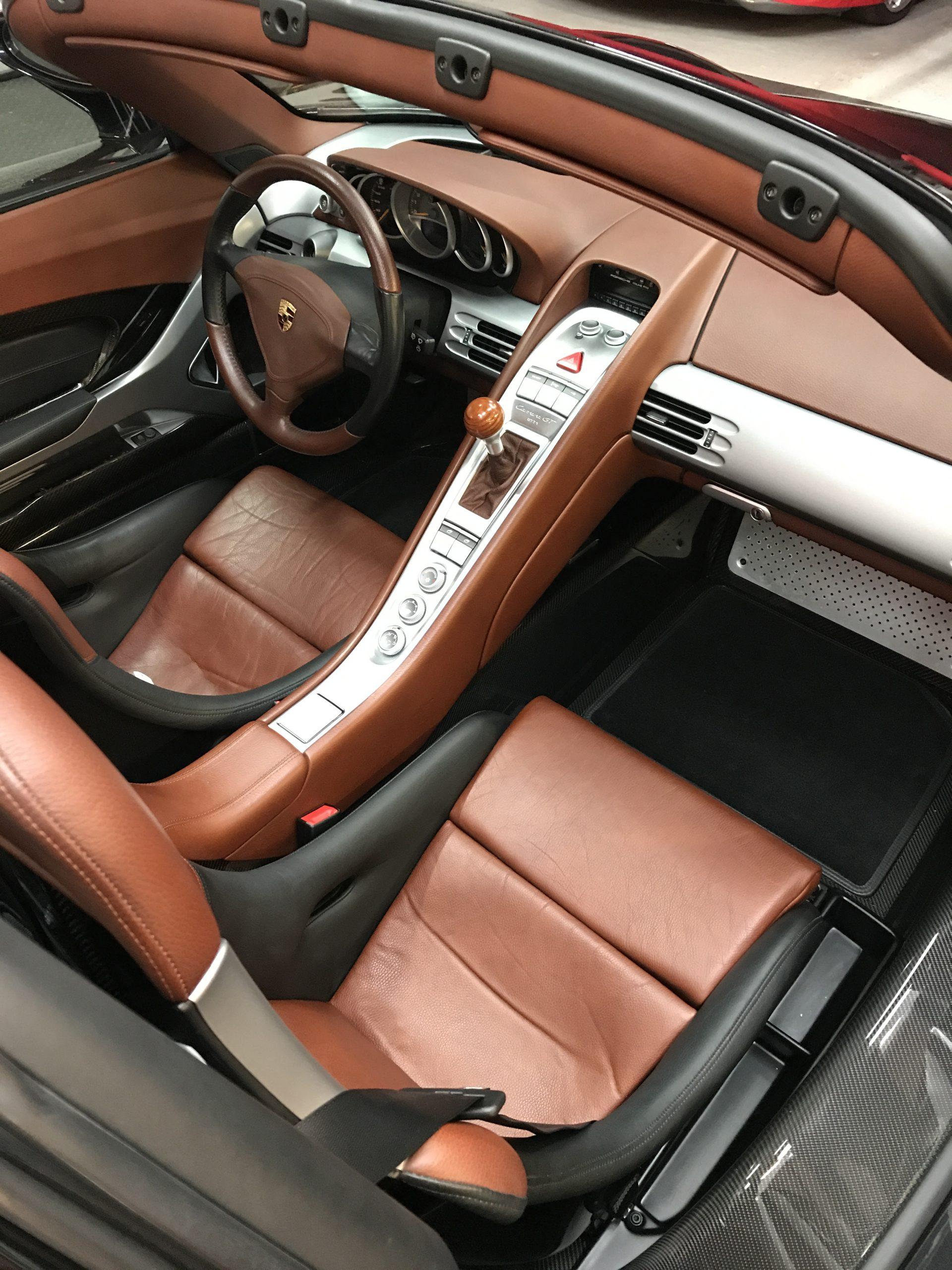Interior supercars detailing