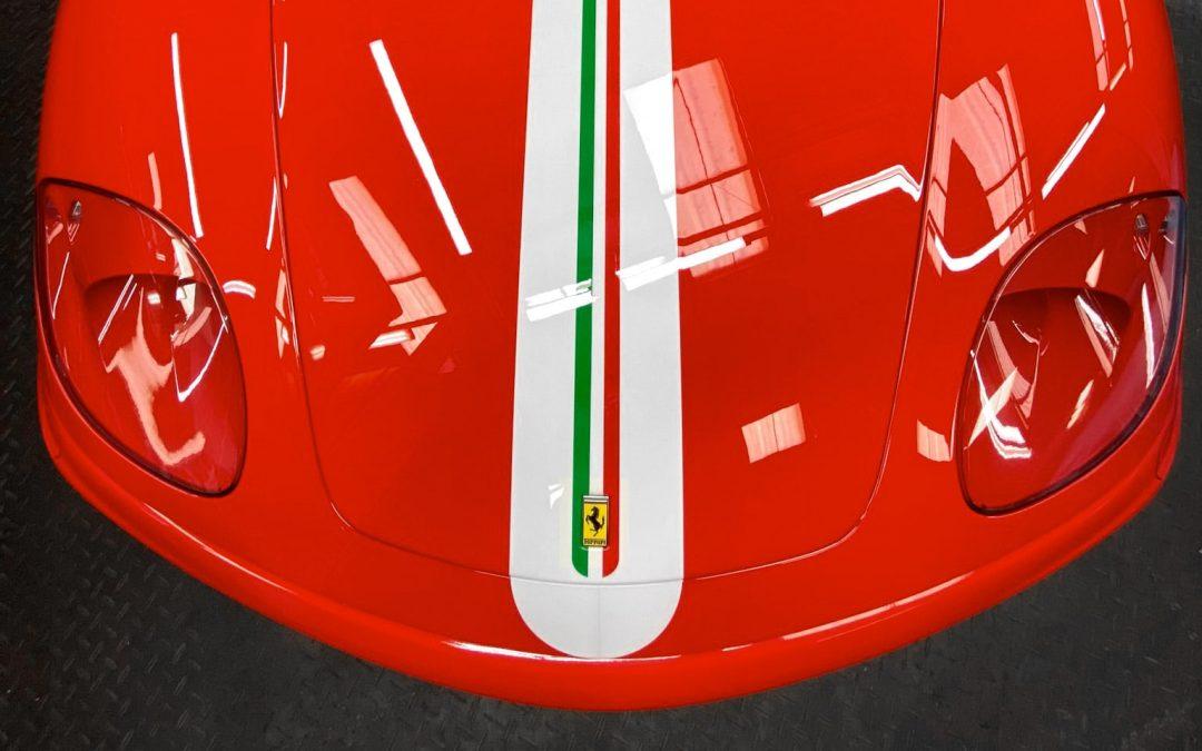 Ferrari 360 Challenge Stradale racing car