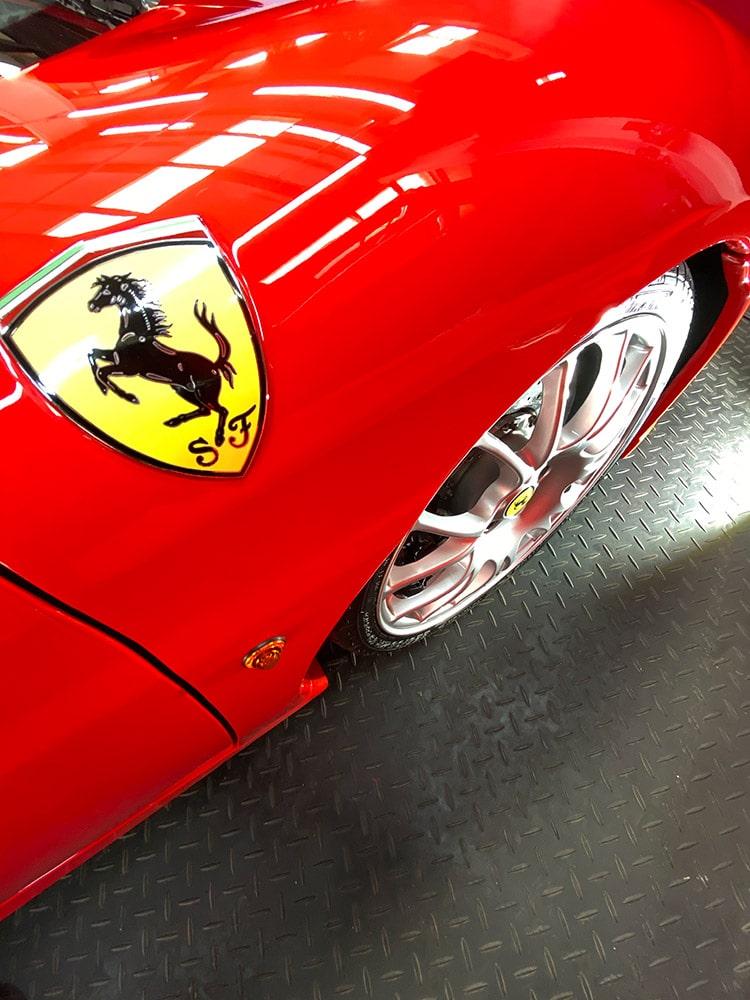 Ferrari 360 supercar detailing