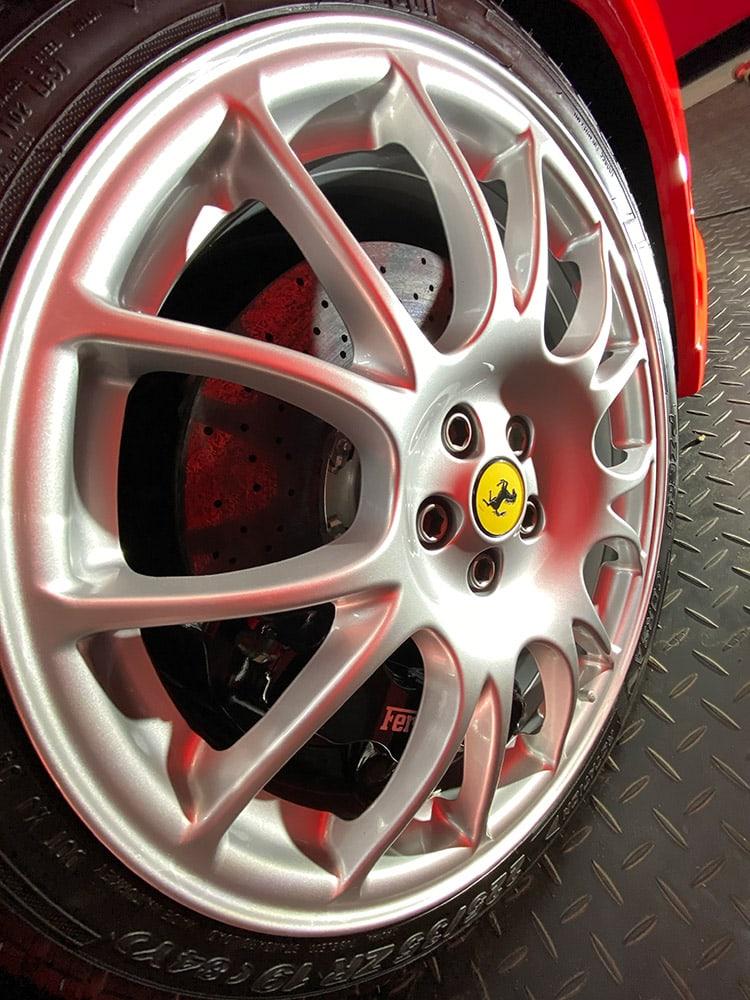 Ferrari 360 wheels detailing