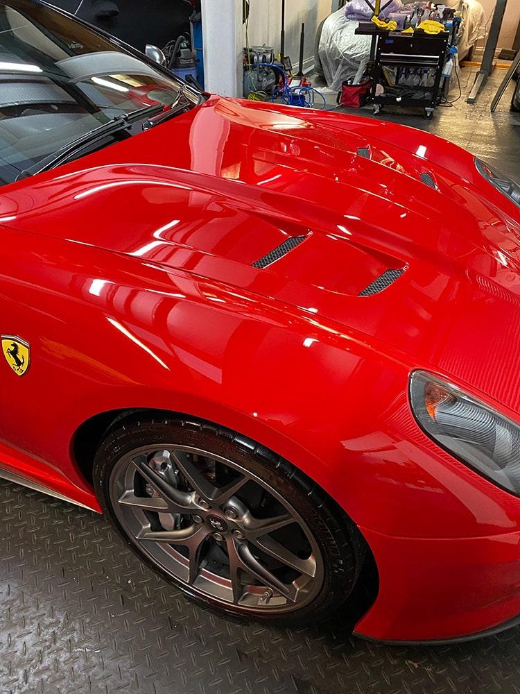 Ferrari 599 car detailing