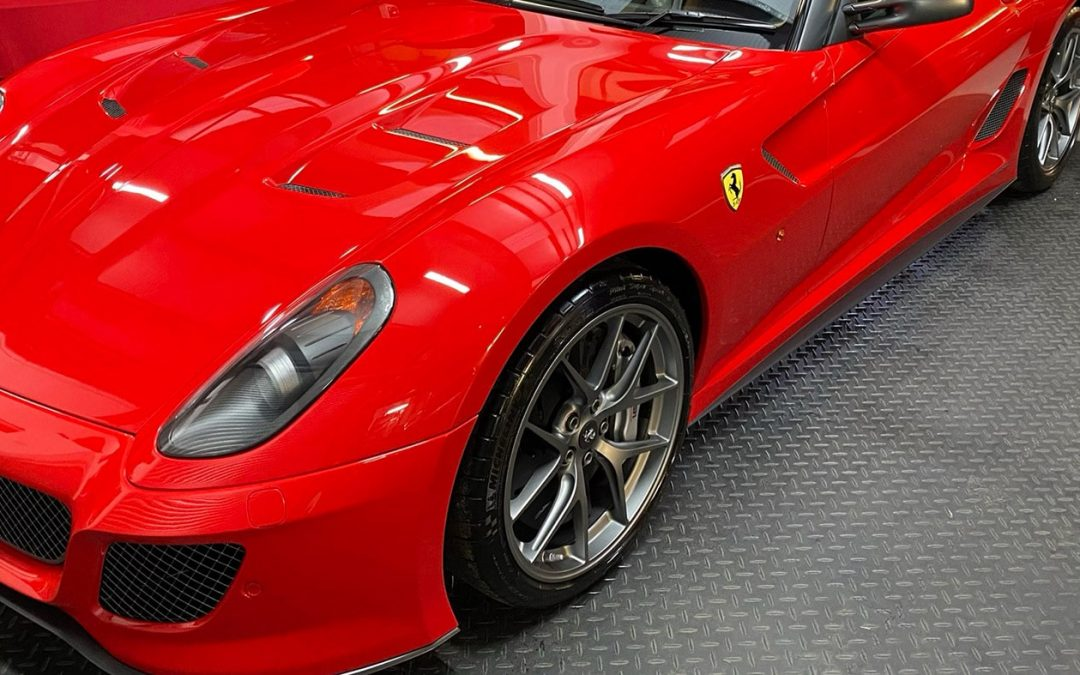 Ferrari 599 GTO Maintenance