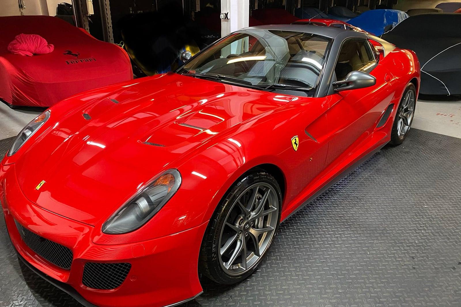 Ferrari 599 maintenance detailing