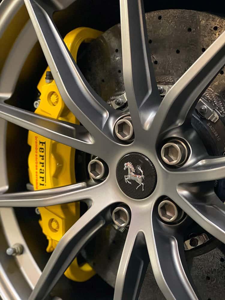Ferrari F12 TDF Wheels detailing
