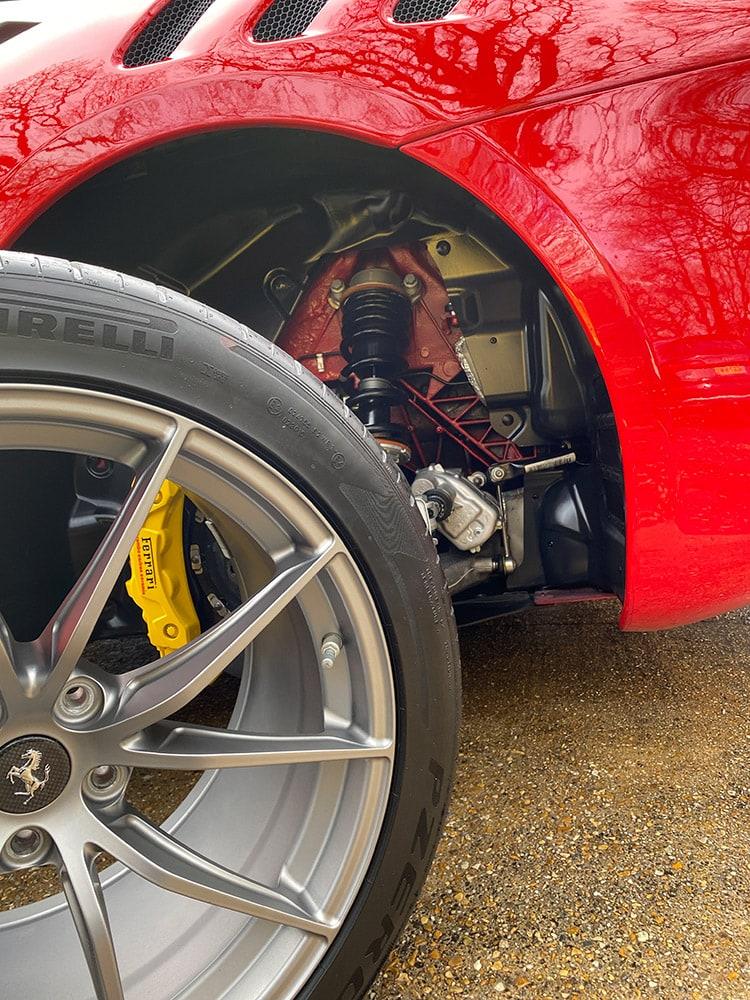 Ferrari F12 TDF detailing