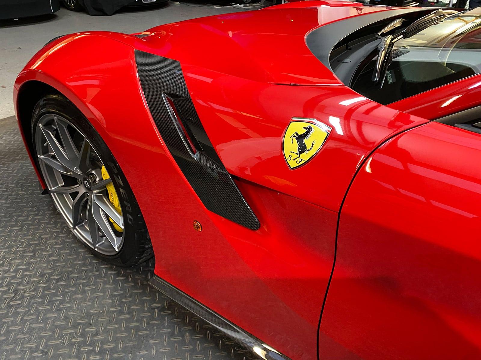 Ferrari F12 TDF hypercars detailing