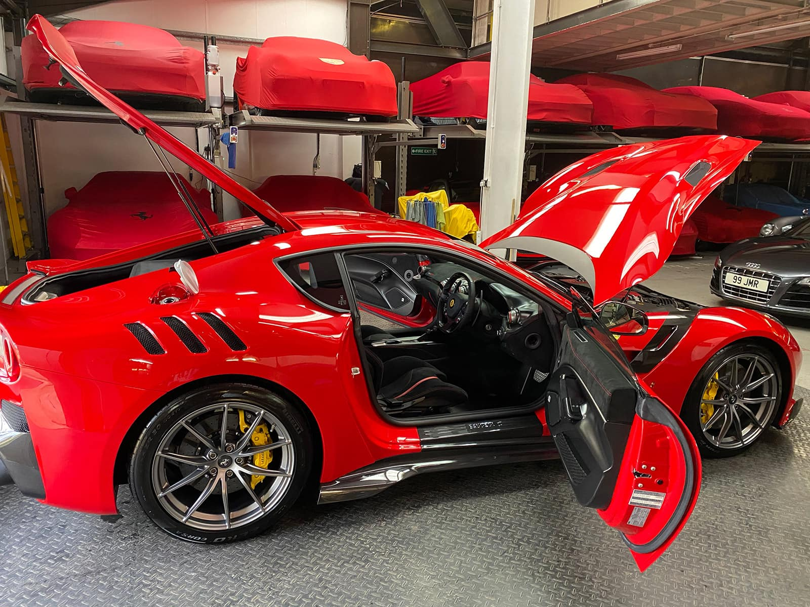 Ferrari F12 TDF paint  protection