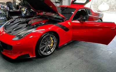 Ferrari F12 TDF – 5 days intensive detailing work