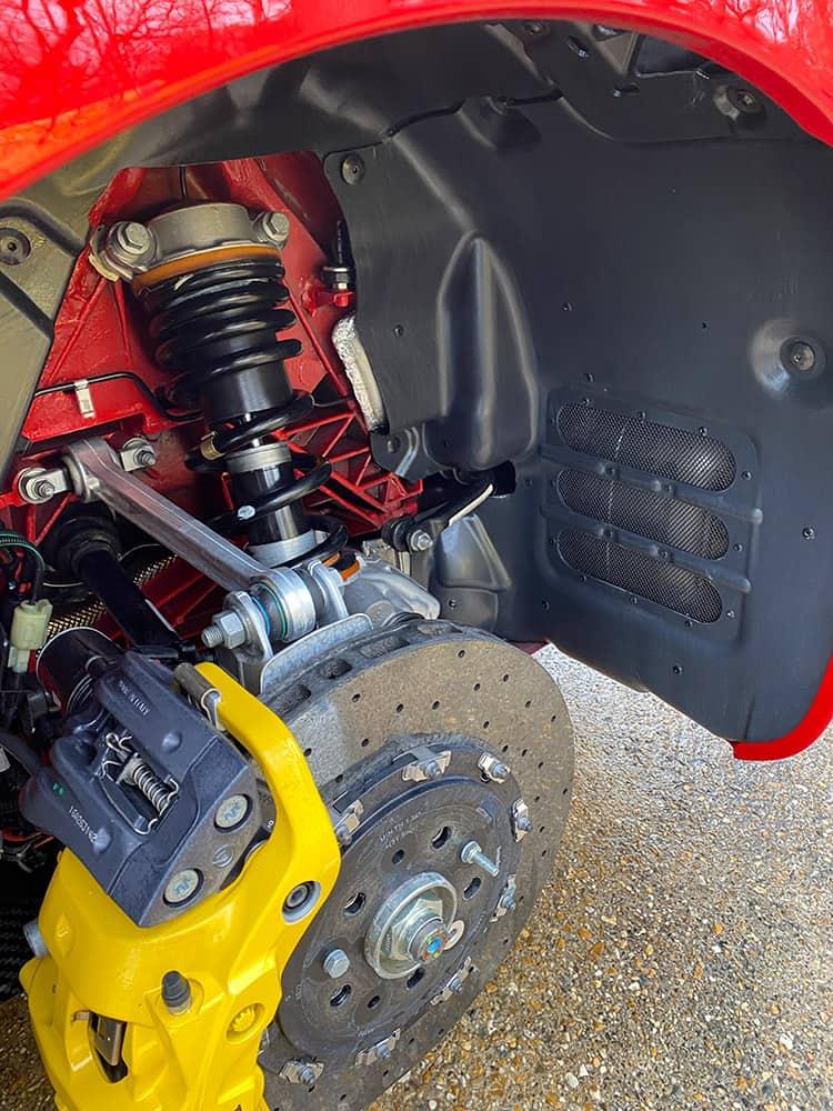 Ferrari F12 TDF wheels brakes