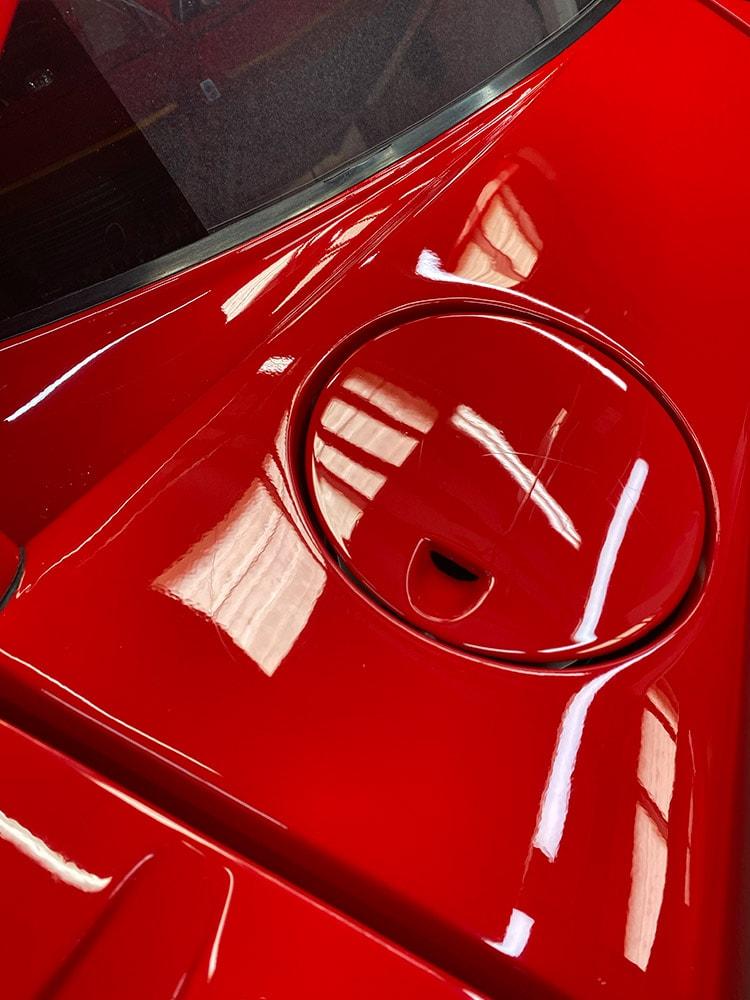 Ferrari F40 detailing before