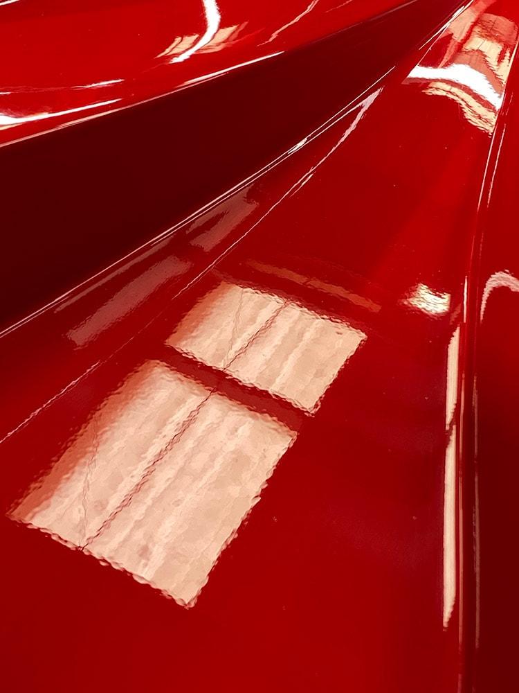 Ferrari F40 paint correction before