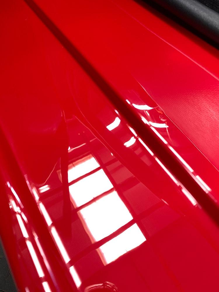 Ferrari F40 wet sanding detailing after