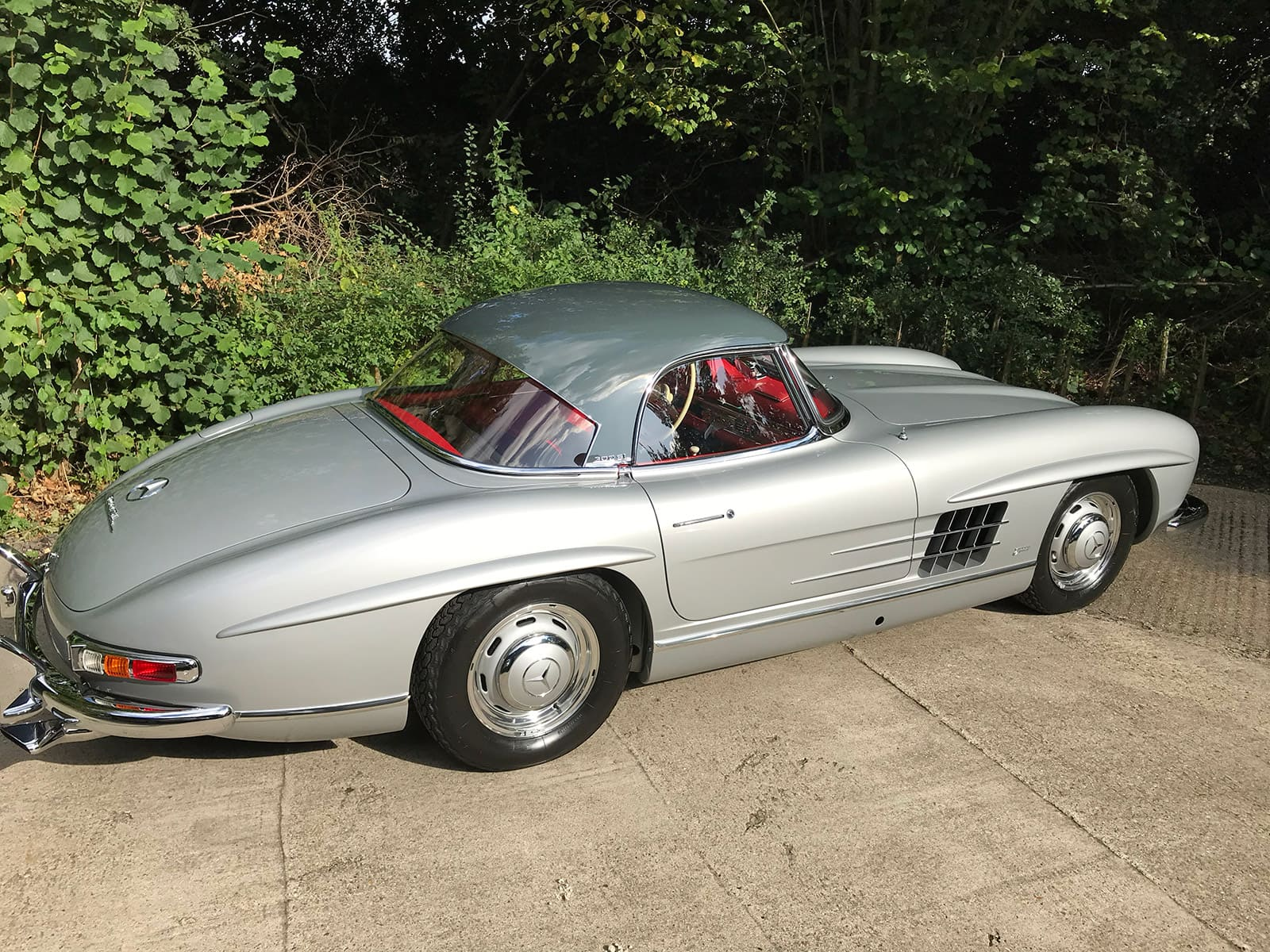 mercedes 300sl car detailing-restoration