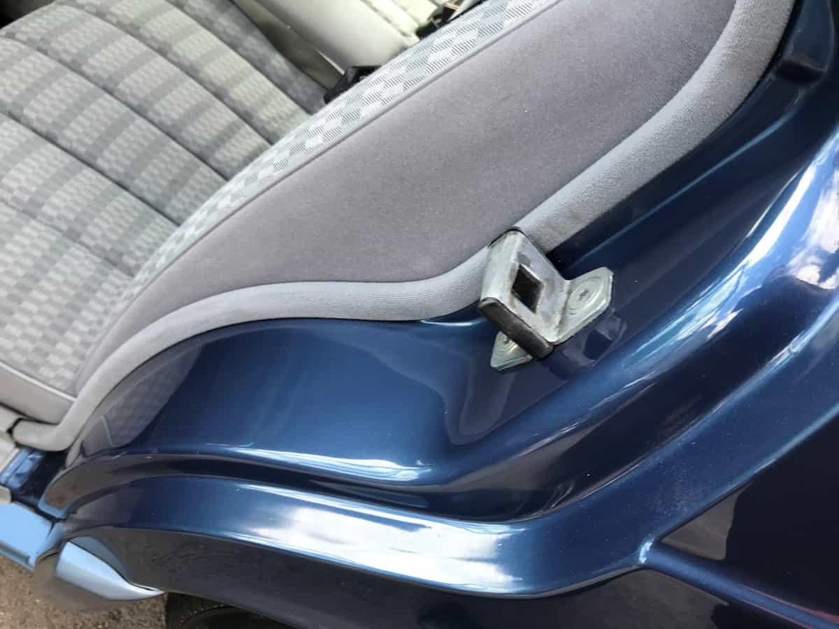 mercedes 190 car detailing finished