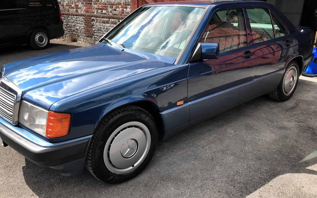 Mercedes 190E 100-hours detailing