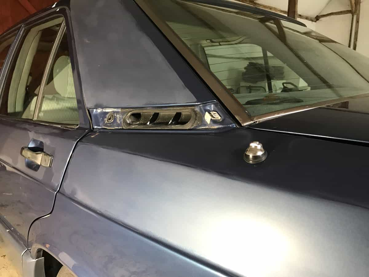 mercedes 190 car detailing process